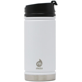 MIZU V5 Insulated Bottle 450ml with Coffee Lid, white
